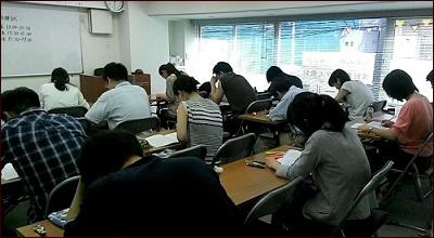 「スクール東京」教室の様子